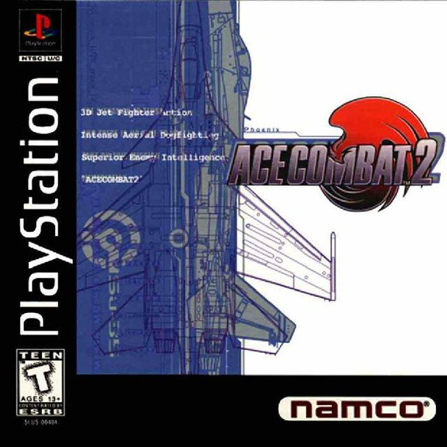 Ace Combat 2 For PlayStation 1 PS1 With Manual and Case