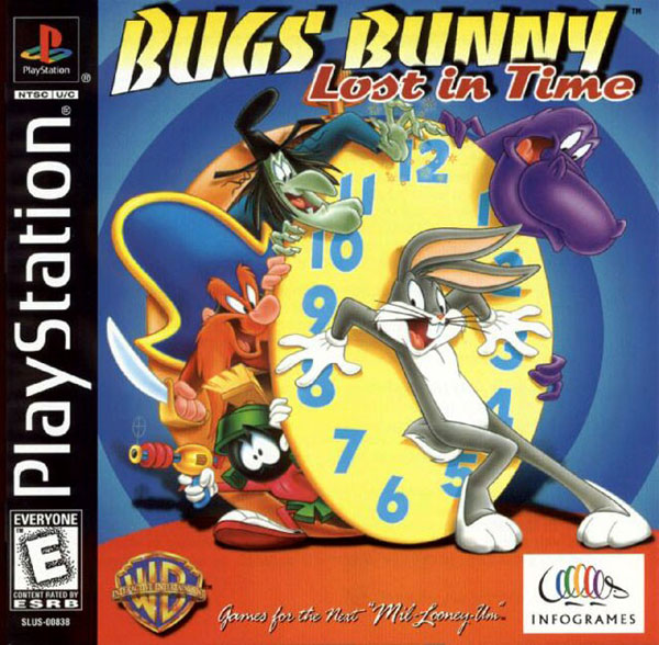 Bugs Bunny: Lost In Time For PlayStation 1 PS1