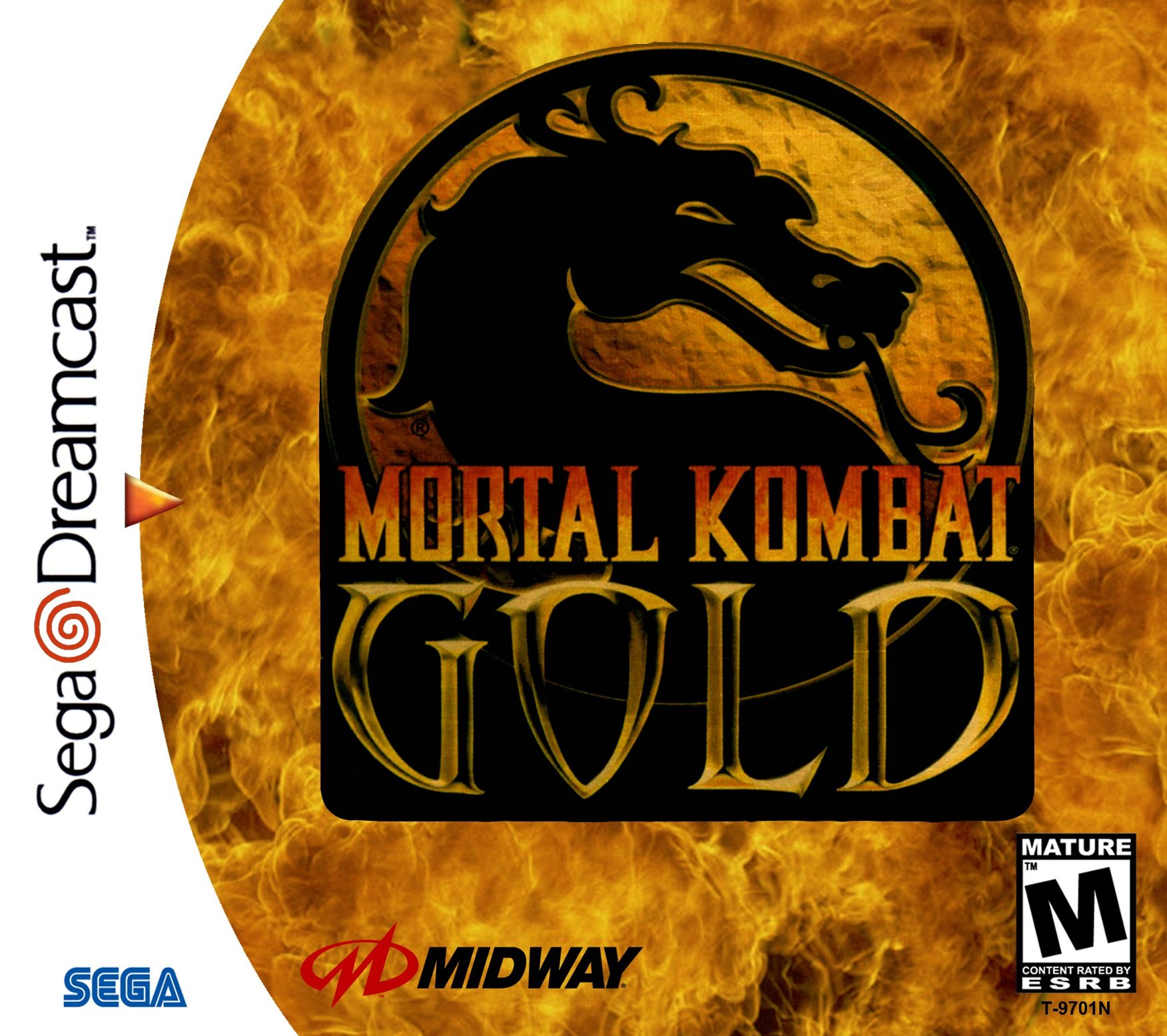 Mortal Kombat Gold For Sega Dreamcast