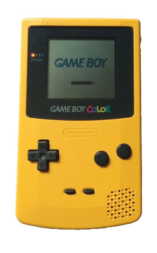 Game Boy Color Dandelion Yellow Handheld CGB-001 cgb-001