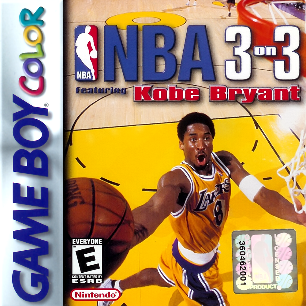 NBA 3 On 3: Featuring Kobe Bryant On Gameboy Color Basketball
