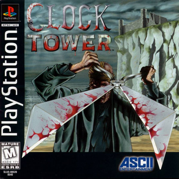 Clock Tower For PlayStation 1 PS1 With Manual and Case