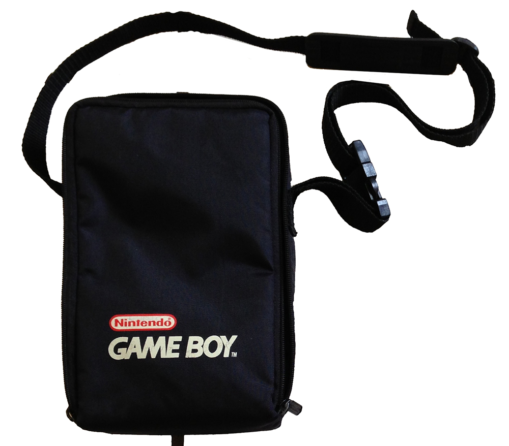 Carrying Case On Gameboy Black IAX164