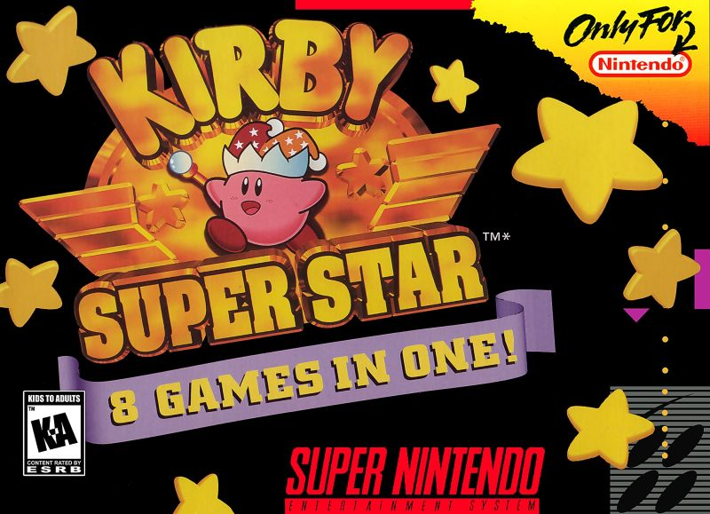 Kirby Super Star For Super Nintendo SNES
