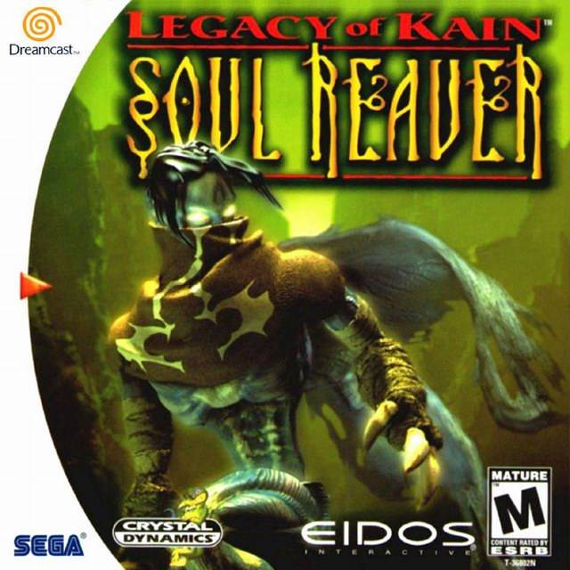 Legacy Of Kain: Soul Reaver For Sega Dreamcast
