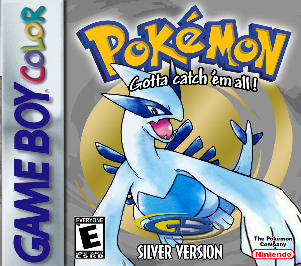 Pokemon Silver Version On Gameboy Color RPG