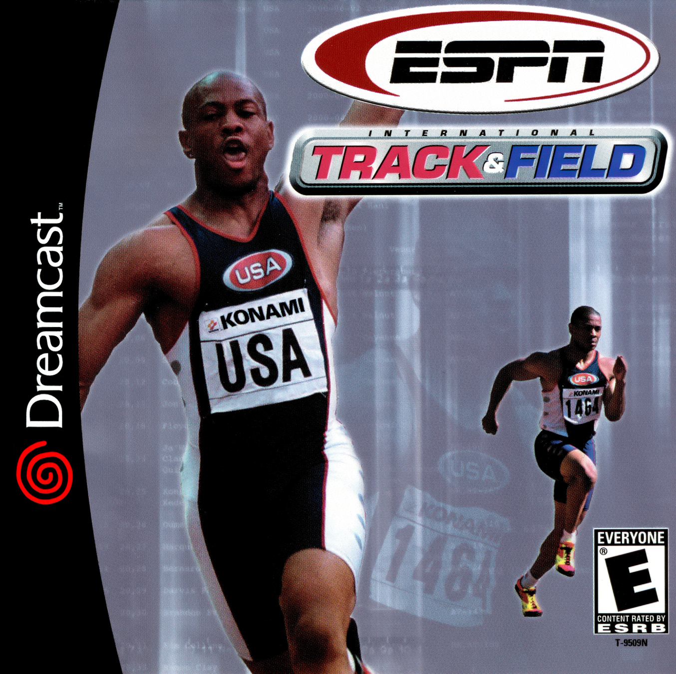 ESPN International Track And Field Dreamcast For Sega Dreamcast