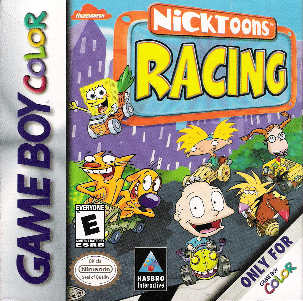 Nicktoons Racing On Gameboy Color