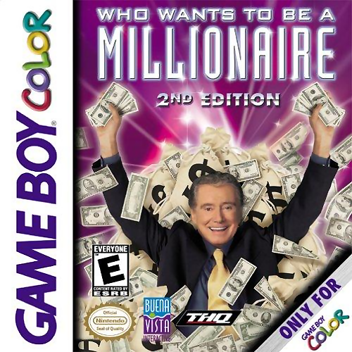 Who Wants To Be A Millionaire Game Boy Color On Gameboy Trivia