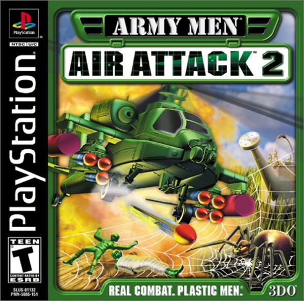 Army Men: Air Attack 2 For PlayStation 1 PS1