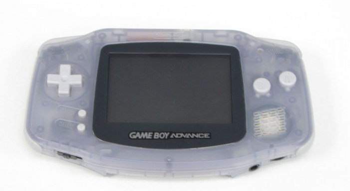 Game Boy Advance Console In Glacier Gray Grey