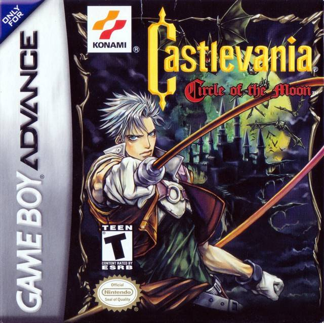 Castlevania: Circle Of The Moon For GBA Gameboy Advance