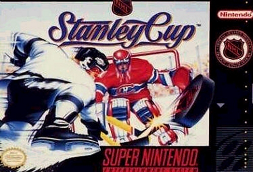 NHL Stanley Cup For Super Nintendo SNES Hockey