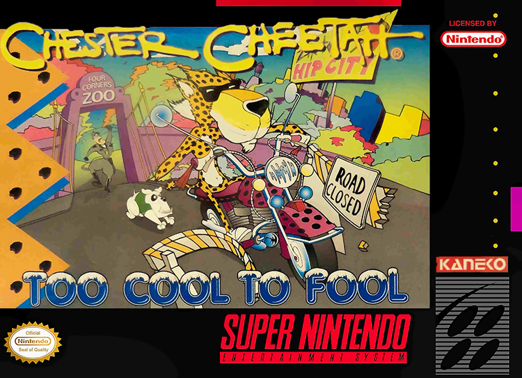 Chester Cheetah: Too Cool To Fool Nintendo Super NES For Super Nintendo SNES
