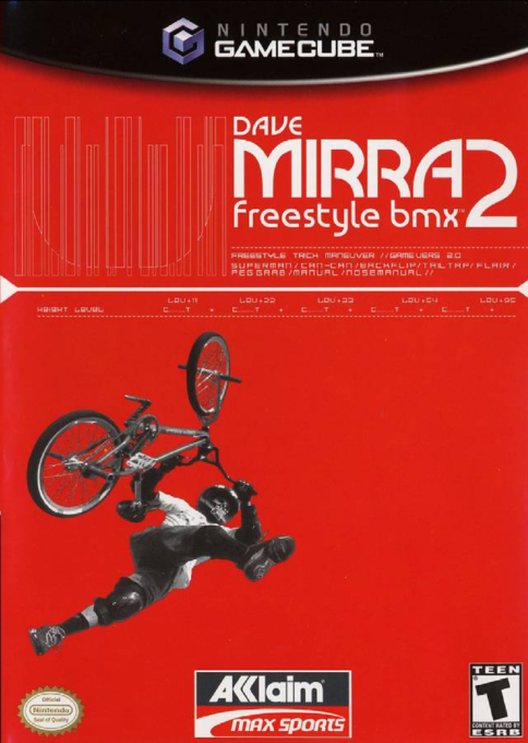 Dave Mirra Freestyle BMX 2 For GameCube