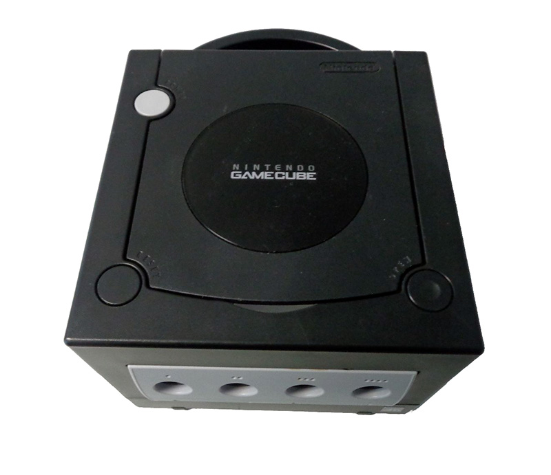 Nintendo Gamecube Console Jet Black Video Game Systems