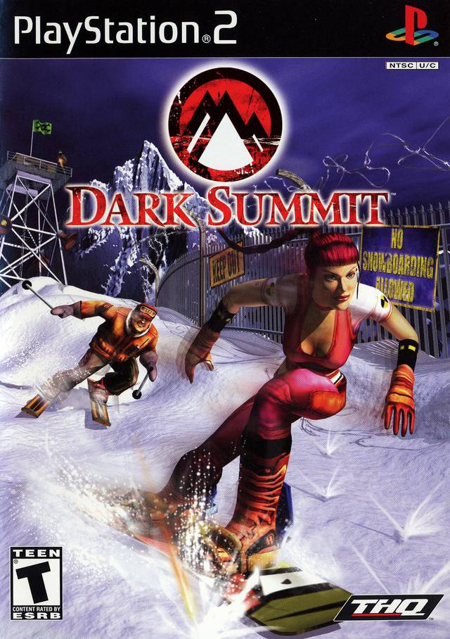 Dark Summit For PlayStation 2 PS2 With Manual And Case