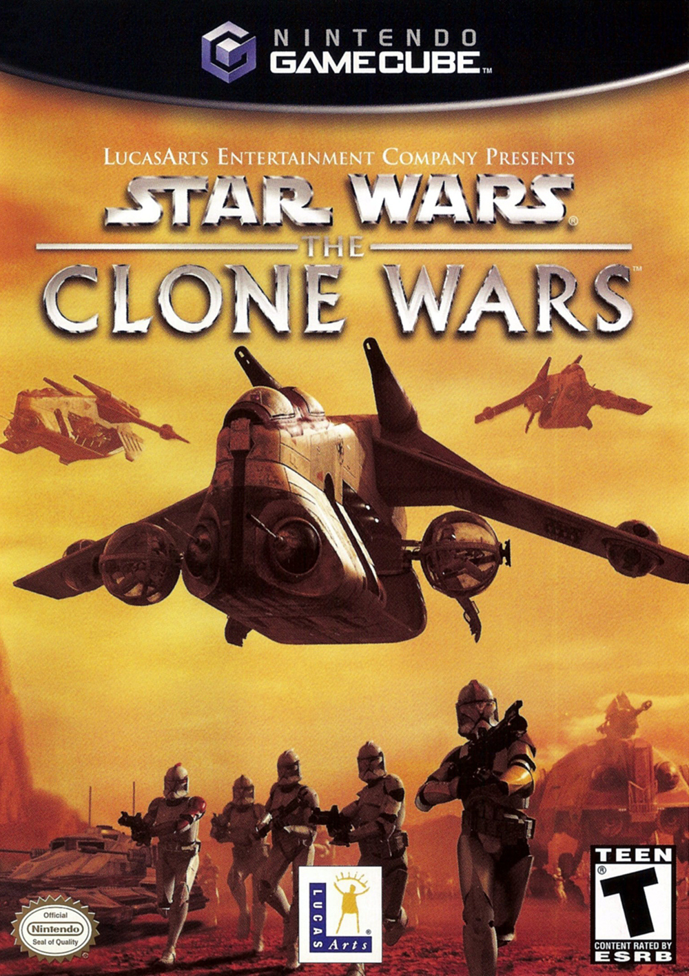 Image 0 of Star Wars: Clone Wars For GameCube
