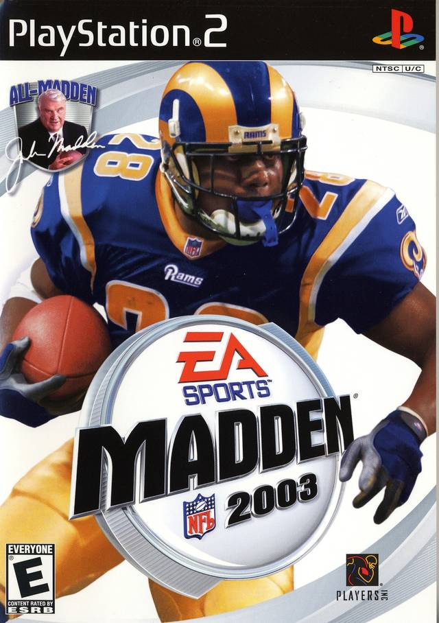 Madden NFL 2003 For PlayStation 2 PS2 Football