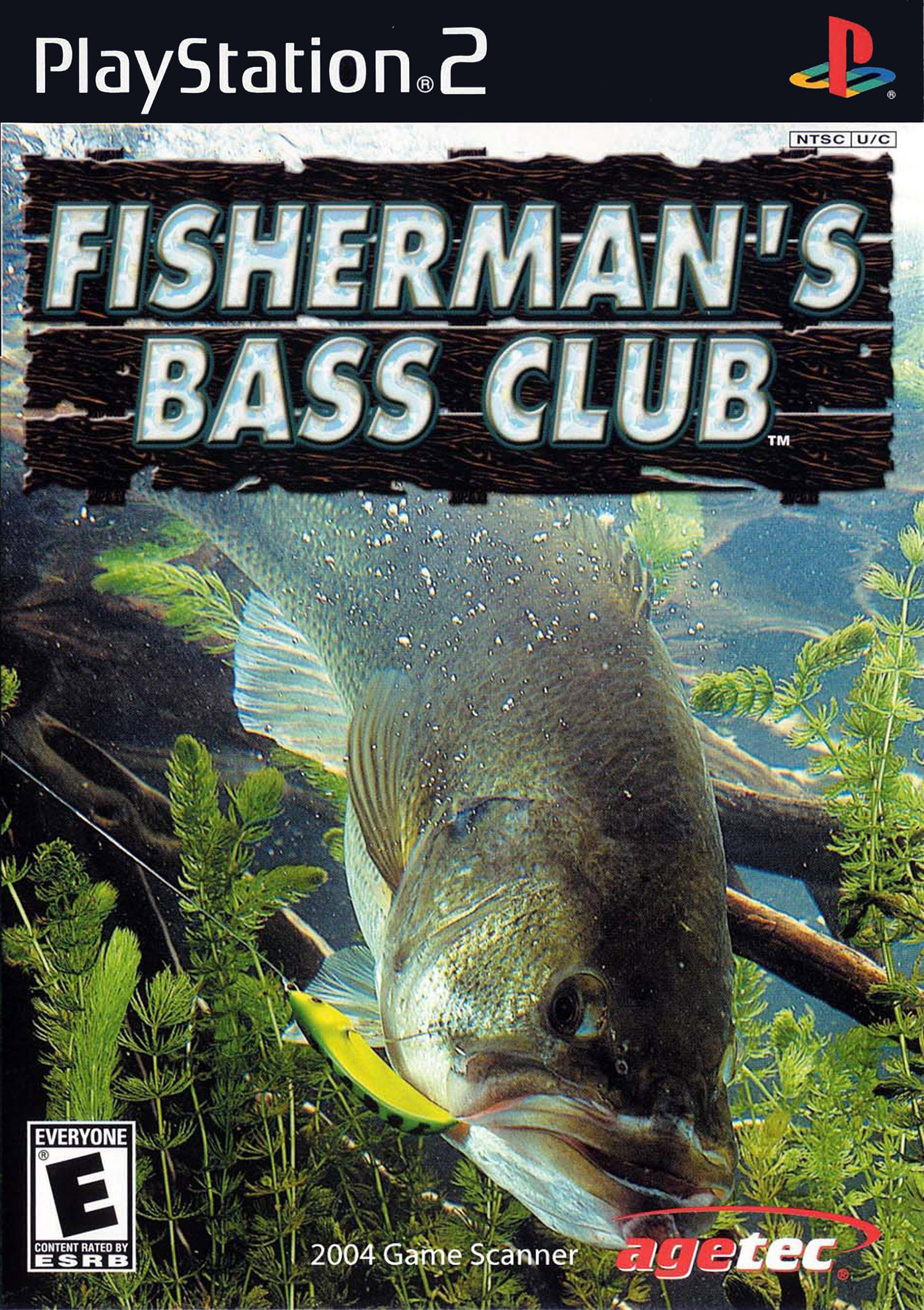 Fishermans Bass Club PlayStation 2 For PlayStation 2 PS2