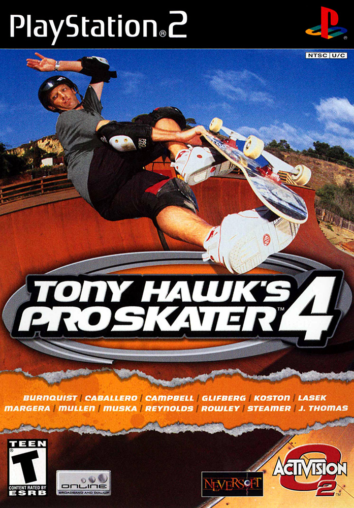 Image 0 of Tony Hawk's Pro Skater 4 For PlayStation 2 PS2 With Manual and Case