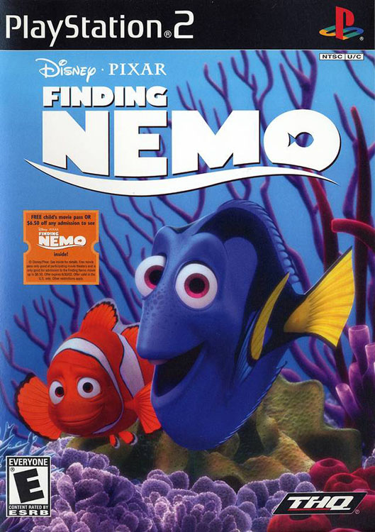 Finding Nemo For PlayStation 2 PS2