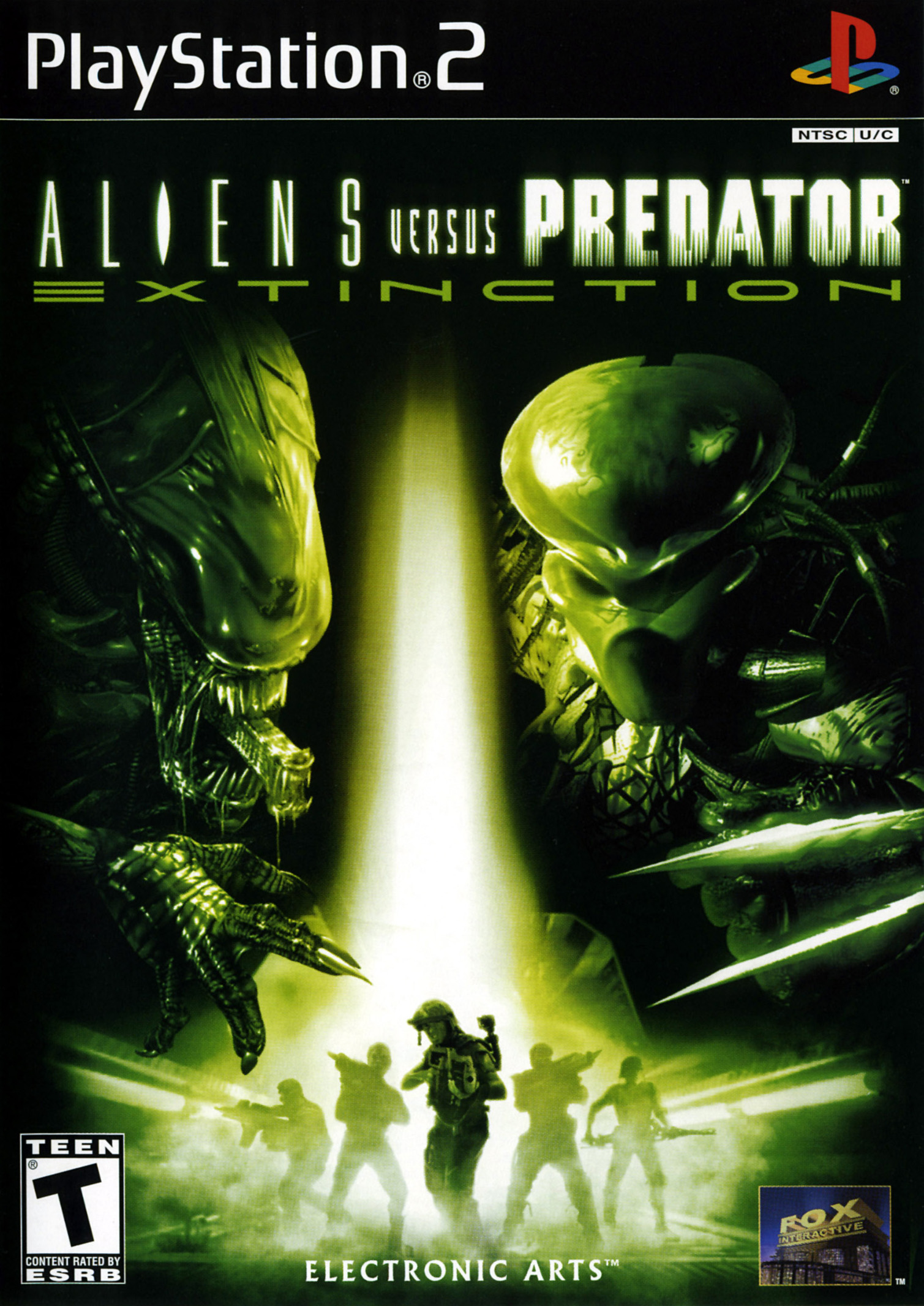 Aliens Vs Predator: Extinction For PlayStation 2 PS2 Shooter