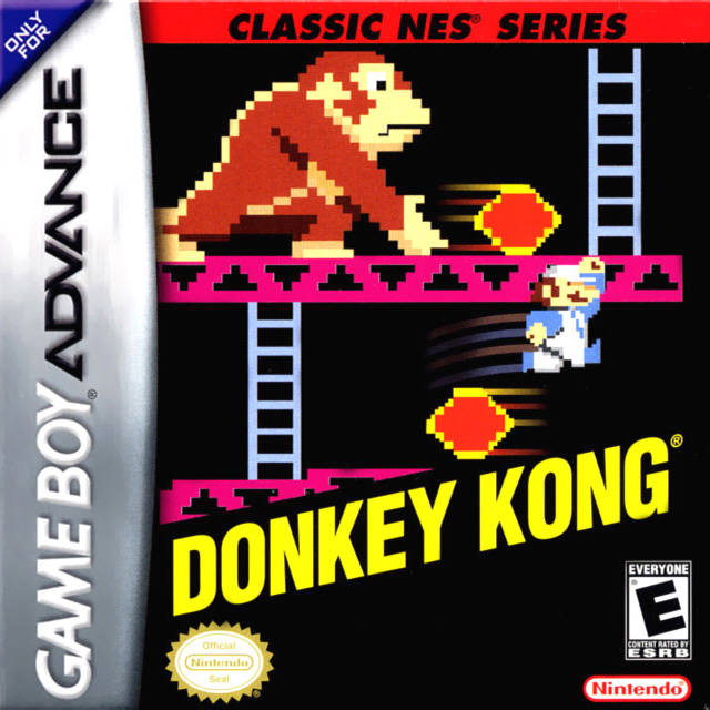 Donkey Kong Classic NES Series For GBA Gameboy Advance Arcade