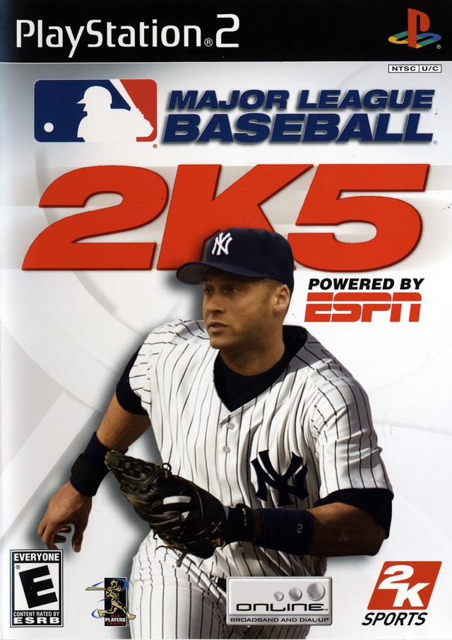 MLB 2K5 For PlayStation 2 PS2 Baseball With Manual and Case