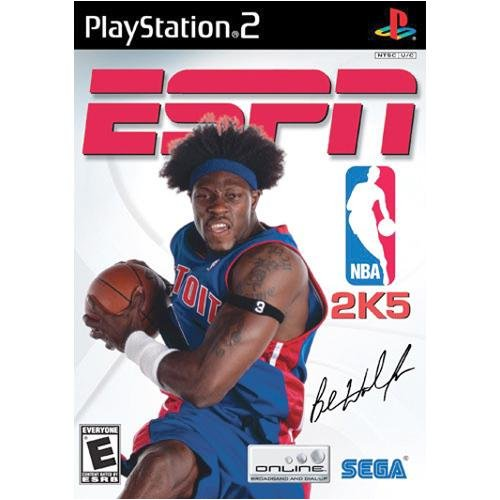 ESPN NBA 2K5 For PlayStation 2 PS2 Basketball
