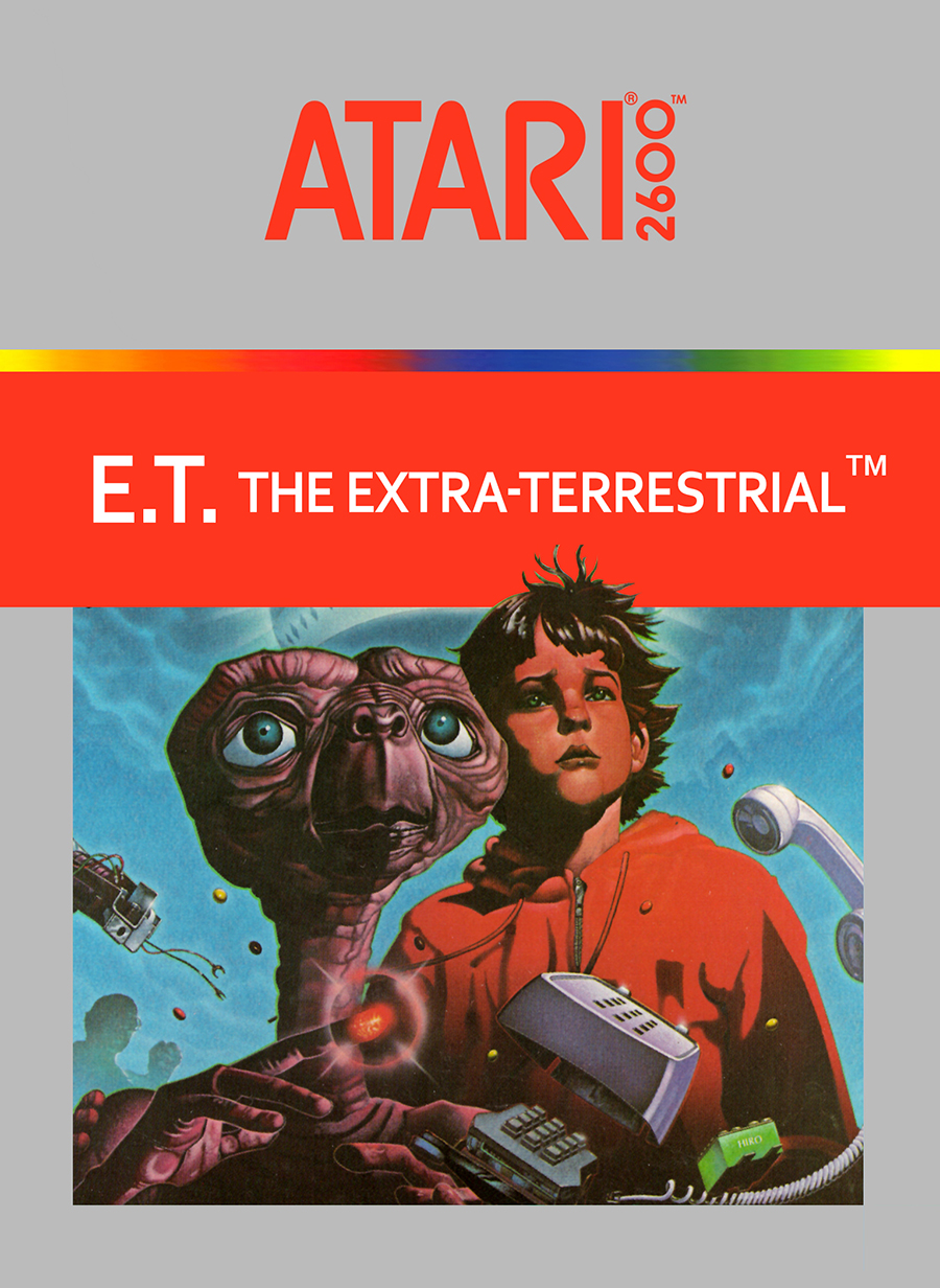 Image 0 of Et The Extra-Terrestrial For Atari Vintage