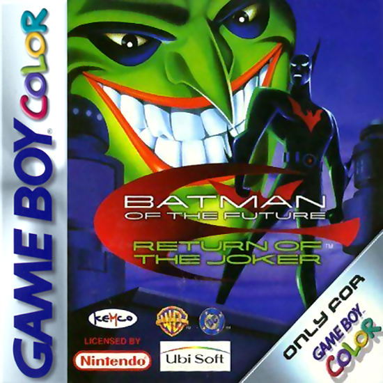 Batman Beyond Return Of The Joker On Gameboy Color Action