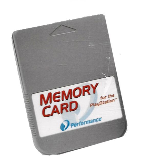 Performance Memory Card 15 Block For PlayStation 1 / 1 MB PS1