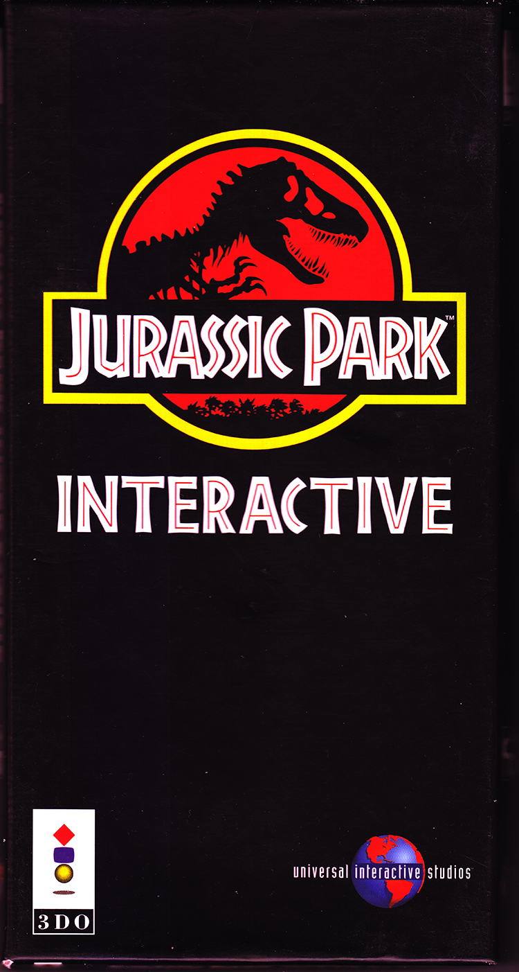 Jurassic Park Interactive 3DO For 3DO Vintage