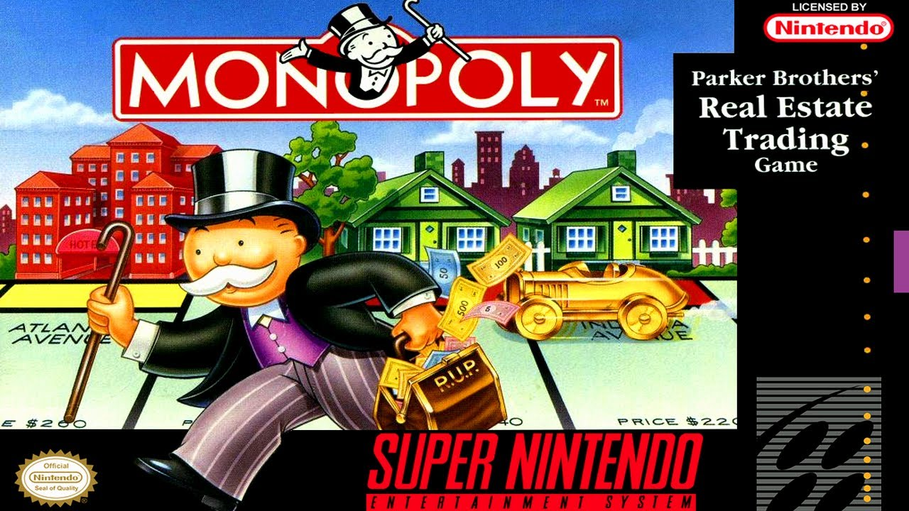 Monopoly For Super Nintendo SNES Strategy