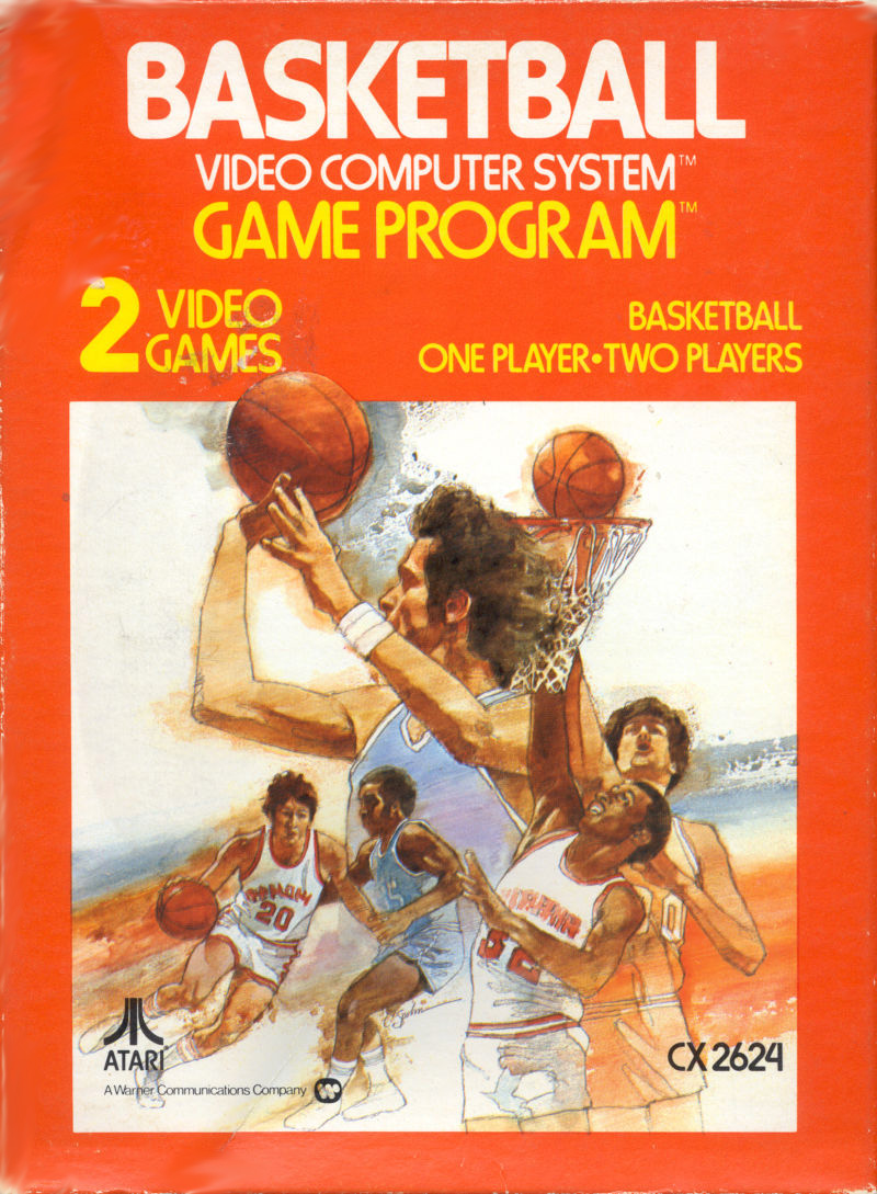 Basketball For Atari Vintage