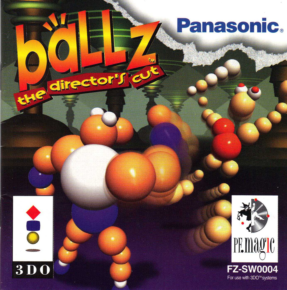 Ballz: The Director's Cut For 3DO Vintage Fighting