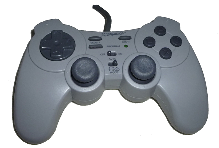 Barracuda 2 Interact Controller Game Pad For Sony PlayStation SV-1133 For PlaySt