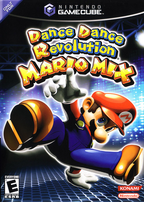 Dance Dance Revolution Mario Mixgame Only For GameCube With Manual and Case