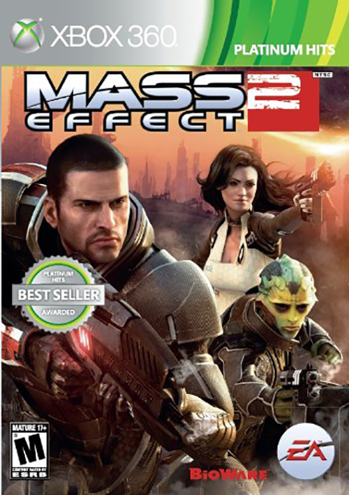 Mass Effect 2 Platinum Hits For Xbox 360 RPG