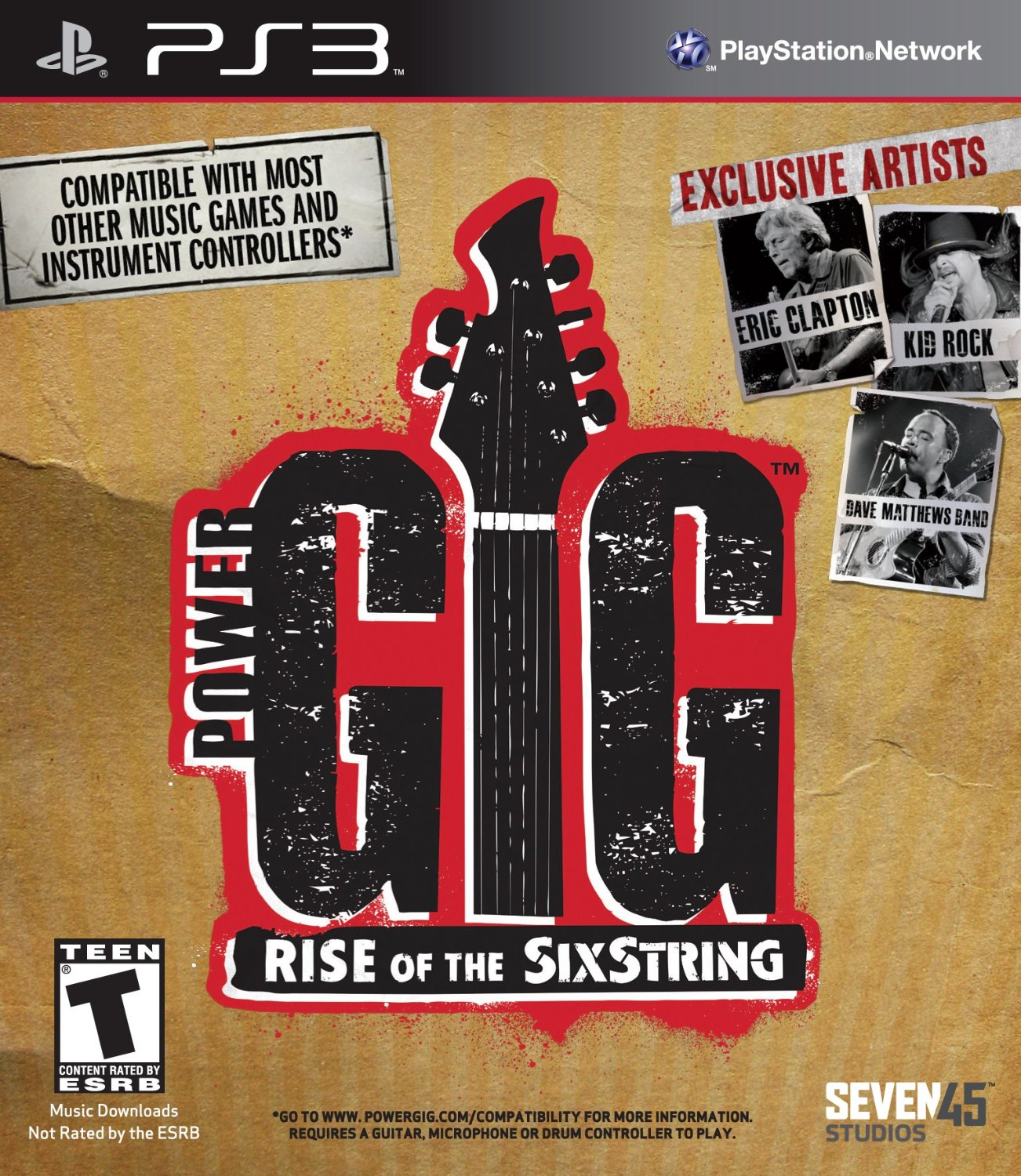 Power Gig: Rise Of The Sixstring Game Only For PlayStation 3 PS3 Music