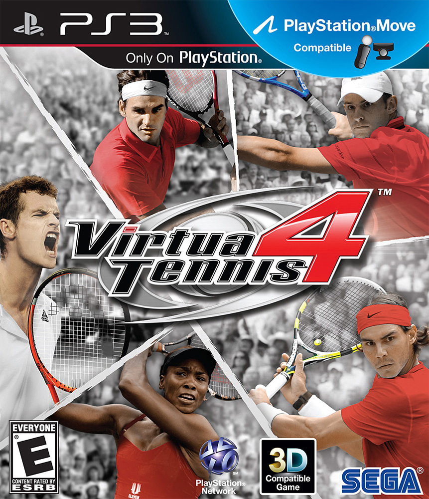 Image 0 of Virtua Tennis 4 For PlayStation 3 PS3
