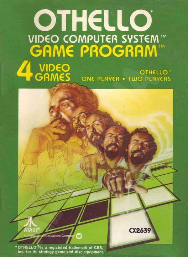 Othello For Atari 2600 Vintage