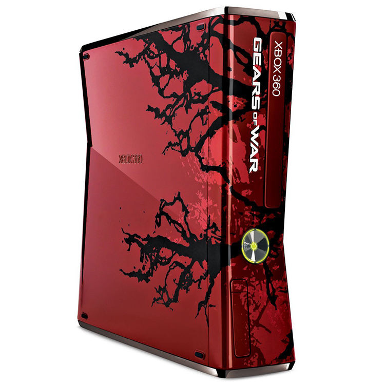 Gears Of War 3 Limited Edition Console Bundle Red S For Xbox 360