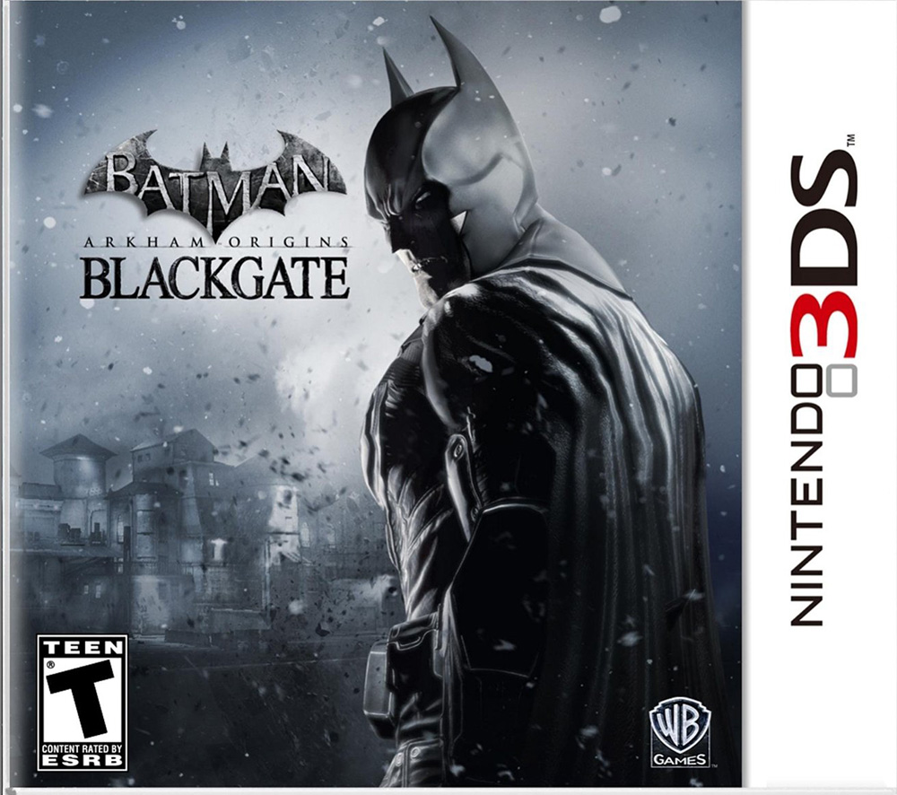 Batman: Arkham Origins Blackgate Nintendo For 3DS