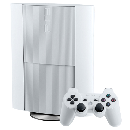 Image 0 of Sony PlayStation 3 PS3 Slim CECH-4012 500GB Console White