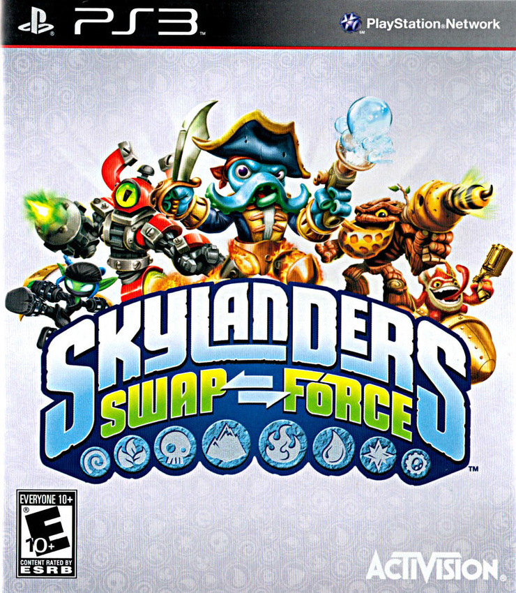 Games For Ps3 Only : Ps skylanders swap force game only for playstation