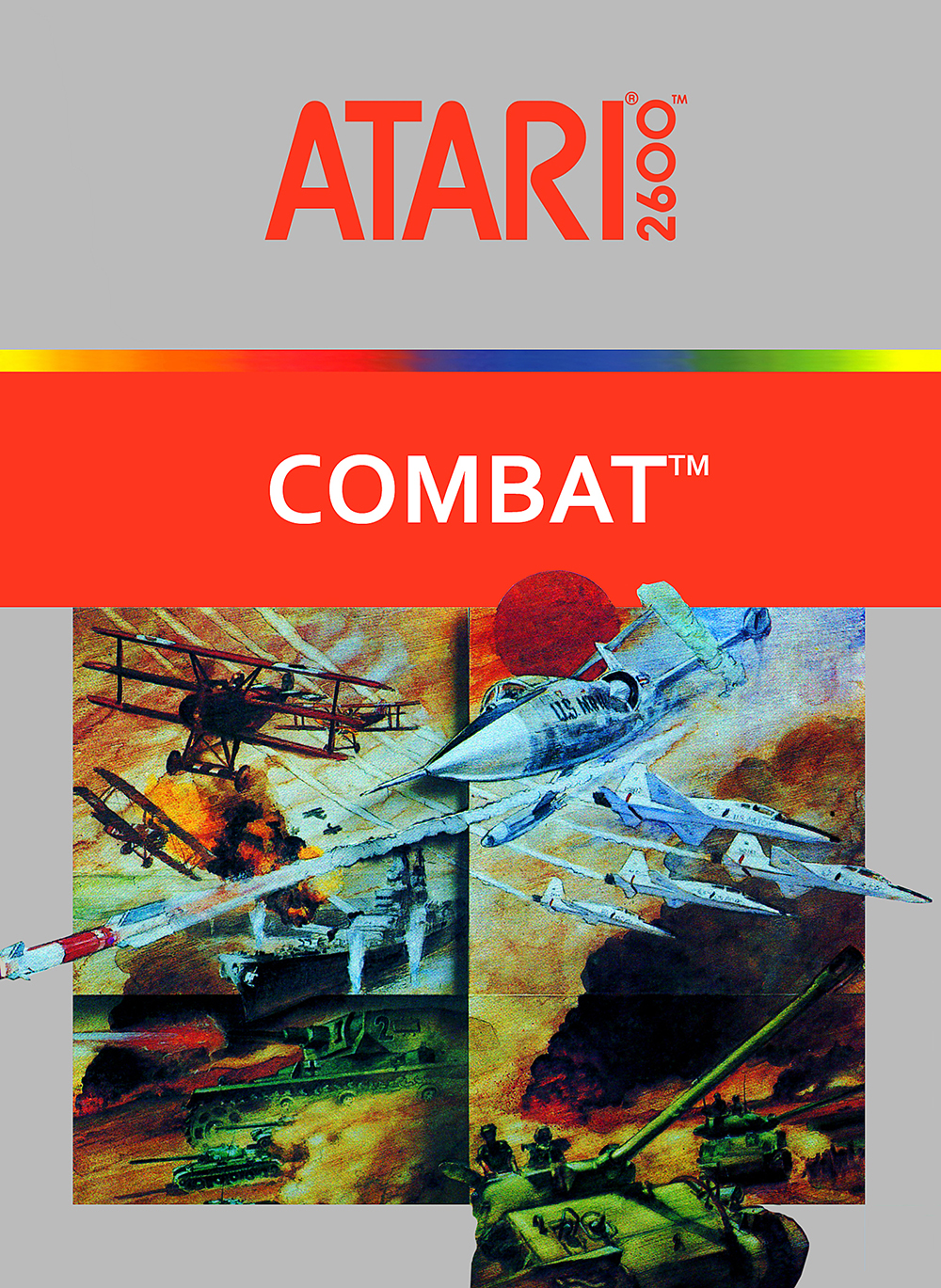 Combat For Atari Vintage Shooter